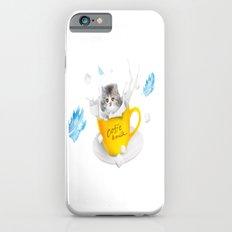 Funny Cat With Milk Slim Case iPhone 6s