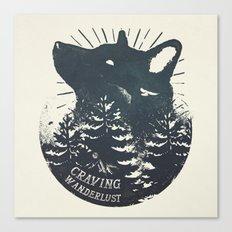 Craving Wanderlust Canvas Print