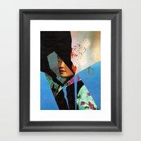 the schiphol girl... Framed Art Print
