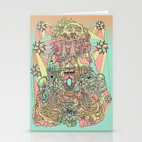 the functioning parts Stationery Cards
