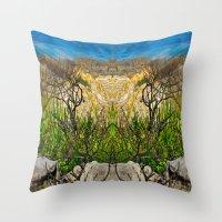 Kleinmond Shore Throw Pillow