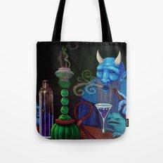 Hookah Demon Tote Bag