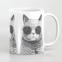 cool cat Mug