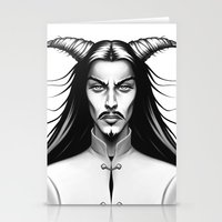 Devil Man Stationery Cards