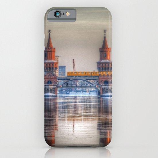 Frozen bridge Berlin iPhone & iPod Case