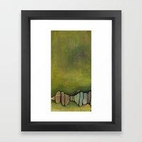 tree canopy Framed Art Print