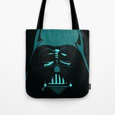 Tron Darth Vader Outline Tote Bag