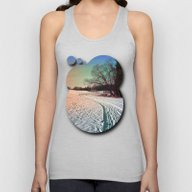 A Snowy Trail And Some T… Unisex Tank Top