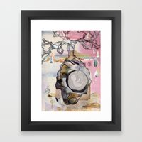 Fruit Tree Framed Art Print