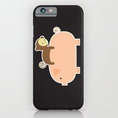 Baby Monkey (Black Bg) iPhone 6s Slim Case