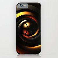 iPhone Cases featuring Secret Weapon by Lyle Hatch