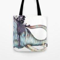 Elephant Shower Tote Bag