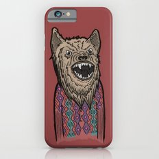 Hipster Wolf Slim Case iPhone 6s