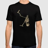 Skelly  Mens Fitted Tee Black SMALL