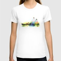 white fair. Womens Fitted Tee White SMALL