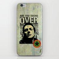Joe Strummer Tribute iPhone & iPod Skin