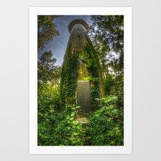 Secret Tower Art Print