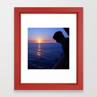 Goodnight Kona Framed Art Print