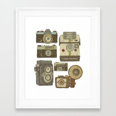 Take some pictures Framed Art Print