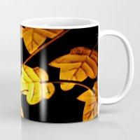 Vintage leaves  Mug
