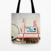 Carnival Funnel Cake Fac… Tote Bag