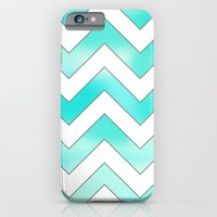 Blue Chevron iPhone 6 Slim Case