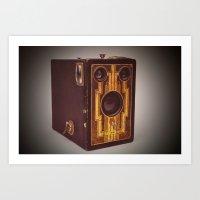 Brownie Camera Art Print