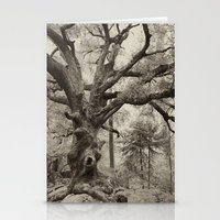 Old Oak Dark  Stationery Cards
