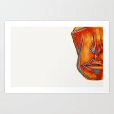 Chiseled Art Print
