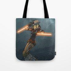 LaserGirl Tote Bag