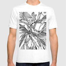 love tree Mens Fitted Tee SMALL White