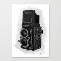 Roleiflex Canvas Print
