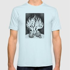 Escape Mens Fitted Tee Light Blue SMALL