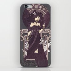 The Sound of Her Wings iPhone & iPod Skin
