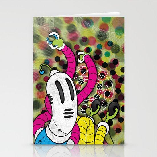 CMYK (Mysterious printer goblin) Stationery Card