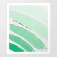 Every Plan Is A Tiny Pra… Art Print