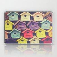 Birdhouses Laptop & iPad Skin
