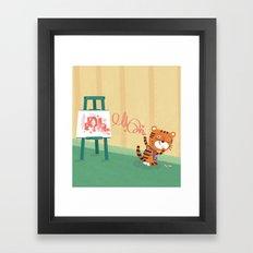 Oops!! Framed Art Print