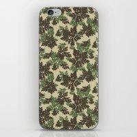 Raccoon Lake - Green iPhone & iPod Skin