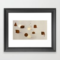 CHOCOLATE PHILOSOPHY Framed Art Print