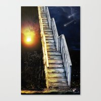 Stairway To.... U Guess!… Canvas Print