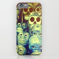 iPhone & iPod Case featuring skulls by Marianna Tankelevich