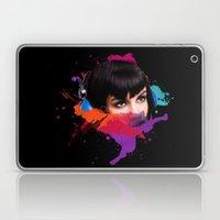 sexy stereo::famke Laptop & iPad Skin