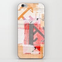 CROSS OUT #28 iPhone & iPod Skin