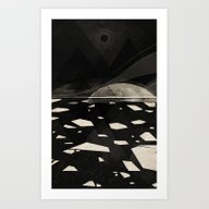 Art Print featuring The White Shore by Dao Linh