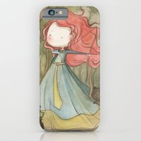 iPhone & iPod Case featuring Merida in the forest by malipi