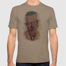 Boogers? Mens Fitted Tee Tri-Coffee SMALL