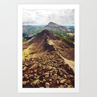 Knife Edge Art Print