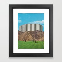 Golfers Framed Art Print