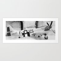 Galveston Air Museum III Art Print